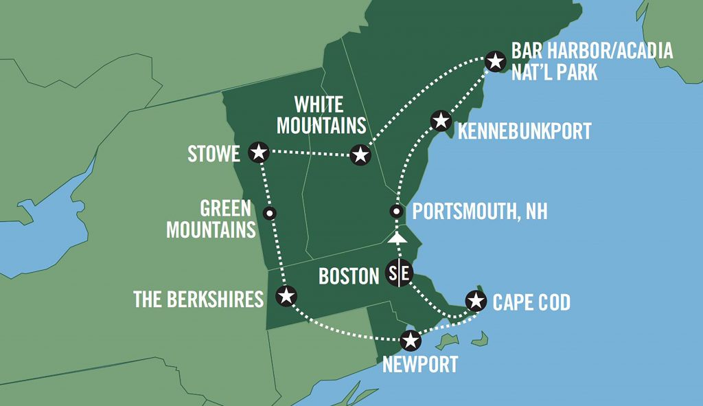 New England Road Trips