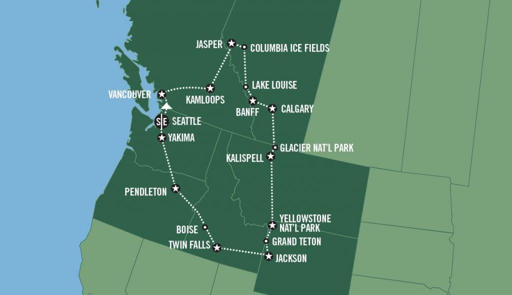 Roadtrip i USA: North by Northwest - USA Spesialisten