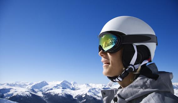 På ski i Canada