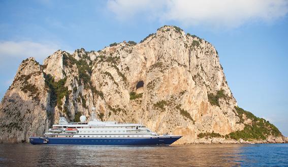 Yachtferie<br /> med luksuriøse SeaDream