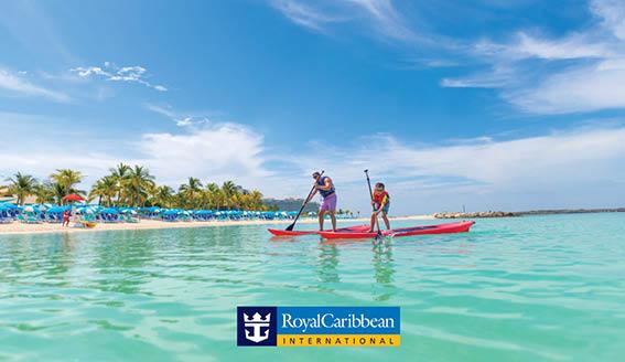 35% RABATT! Med Royal Caribbean